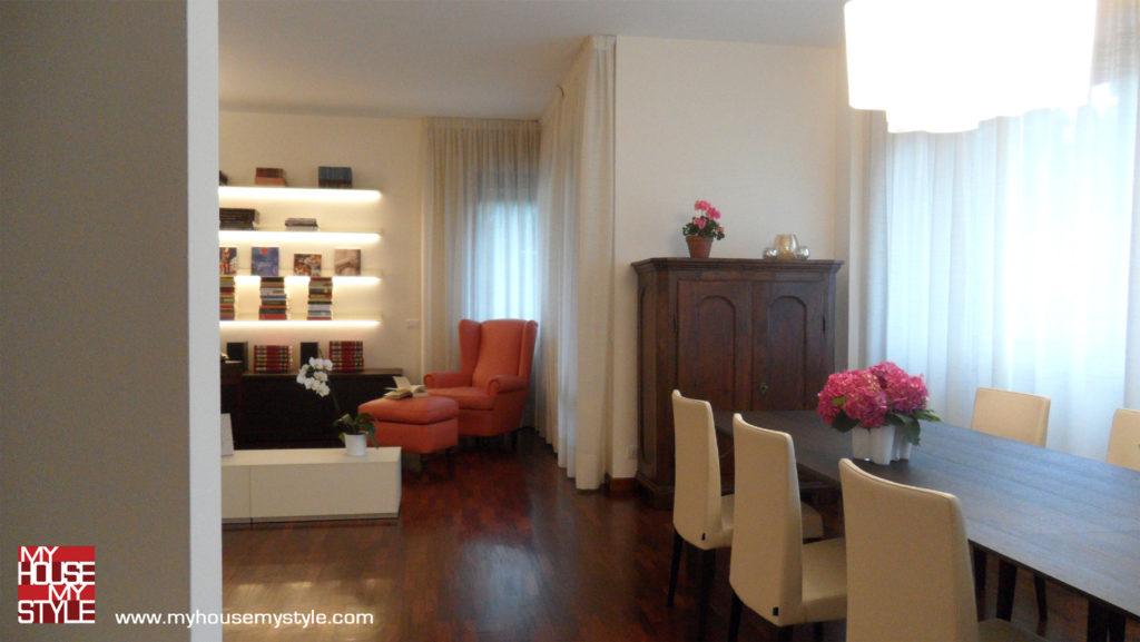 abitazione a Varese: il soggiorno