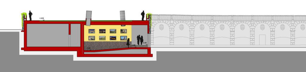 Villa della Regina: la nuova manica accoglienza