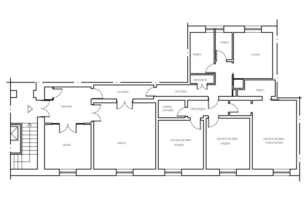 Una cucina più spaziosa